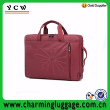 Customized fashion rolling computer messenger bag 19 inch laptop bag