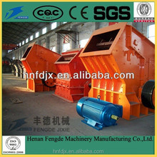 Small model impact crusher for concrete, concrete crushing machinery with large capacity
