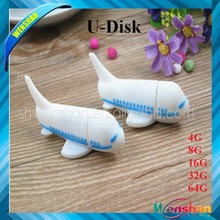 wholesale airplane shape usb flash drive, logo print, Factory Price,top gadgets for world cup