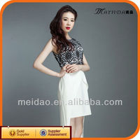 2013 New Fashion Latest Ladies Simple Design Party Dress