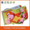 Custom printing colorful children hardcover board printing book
