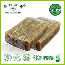 raw brown sugar cane