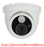 Economical IR AHD dome cctv camera AHD-124S