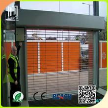 grill door designs roll up doors/stainless steel rolling grille door