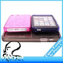 2013 Hot selling Ultra Thin Clear fancy cover for iphone 5