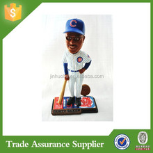 Chicago Cubs Coach Official Dusty Baker Ticket Base Action Bobble Head