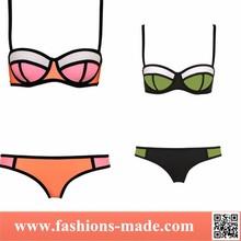 Hot Sexy Summer Women Neoprene Bikini Triangl