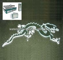 Chorro de agua cortador de vidrio