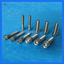 Baoji Tianbang Produce Low Price Titanium Ti Bolt screws M4 X 8mm 15mm 20mm Tapered Head Bicycle Around Dial Screw