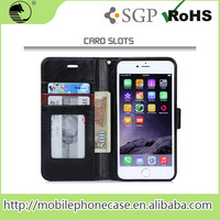 China Supplier Best Selling Pu Leather Cover Case For iPhone 6s Mobile Phone Cover