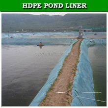 hdpe fish pond liner for outside natural pond / geomembrane with factory price