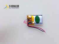 Smallest Lipo Battery 301423 3.7v 65mah for Smart Watches with Mini Size