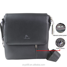 2014 New arrival Bags Camera with wireless remote control long time recording YZ029