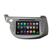 4.4.4 car dvd radio android for honda New FIT 2009-2011 wifi 3G 1024*600 quad core 1G+16G optional WS-6005