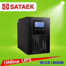 LCD display online ups standard type external battery type,for home use ups 1kva