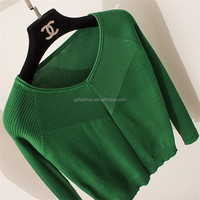 Customized top quality new product pullover knitting garment wholesale