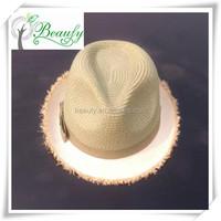 2015 Fashion Girl Raffia Straw Hat