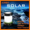 SORBO Most Powerful Outdoor Solar LED Camping Lantern,Portable Handheld Camping Light with Emergency Solar Charger for Mobile