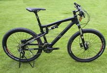 2014 chinese complete carbon fiber full mountain bicycle/bike , carbon MTB complete bike, carbon full mountain bike