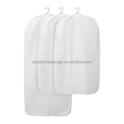 Best 100% polyester fabric garment bag luggage foldable suit cover bag wholesale
