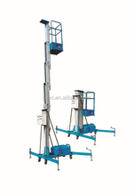 SKYSCRAPING TOWER hydraulic aerial column lift man operation post lift light weight & novel design outdoor lifting equipment