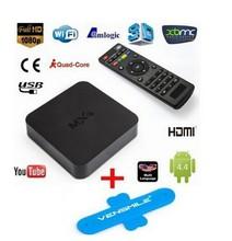 Kitkat Quad Core Amlogic S805 4 High Speed 1080 P Android 4.4 Kika TV Box