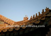 Chinese building model+roofing tiles+traditional type