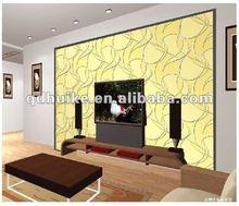 TV backgournd wall mirror/golden decorative background wall mirror glass
