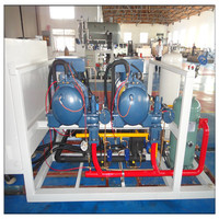 NINGXIN Screw Compressor Cold Room Refrigeration Unit