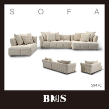Living room sectional sofa set chaise