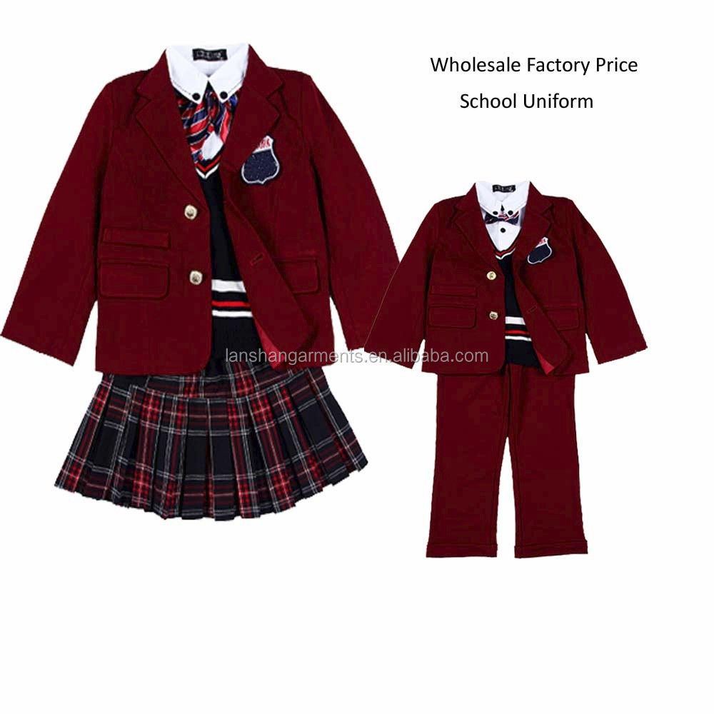 china factory latest school uniform designs buy primary