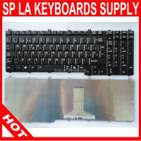 Laptop Keyboard for Toshiba P300 L505 P305 L350 L350D L355 A500 A505 P500 P505 SPANISH LATIN Black laptop keyboard