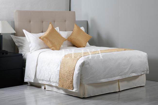 eliya 100 coton 4 toiles h tel ensemble de literie drap de lit linge de lit literie id de. Black Bedroom Furniture Sets. Home Design Ideas