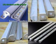 transparent U slot white 72leds/m 55-60lm 5730 smd led rigid strip lights