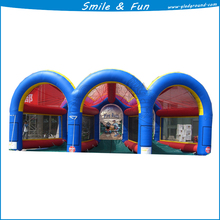 Inflatable basketball court type Inflatable sport game size 9*6m for 3 persons