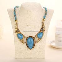 Fashion arabic gold necklace wholesale HJXL050