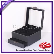 Mini Wooden Treasure Cheat Jewelry Box Wholesale Packaging