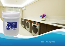 commercial laundry machines used fabric softener for clothes