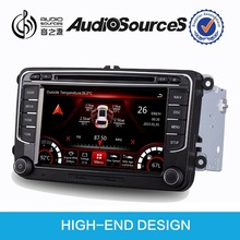 7 inch touch screen car dvd for Volkswagen golf 5 accessories radio bluetooth OBD OPS IPAS car infor door cue