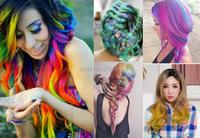 новый волос натуральный краситель красочные мелом палки комплект нетоксичные временных волосы краска волос Мел цвета пудры crayons 24pcs/набор свободный корабль