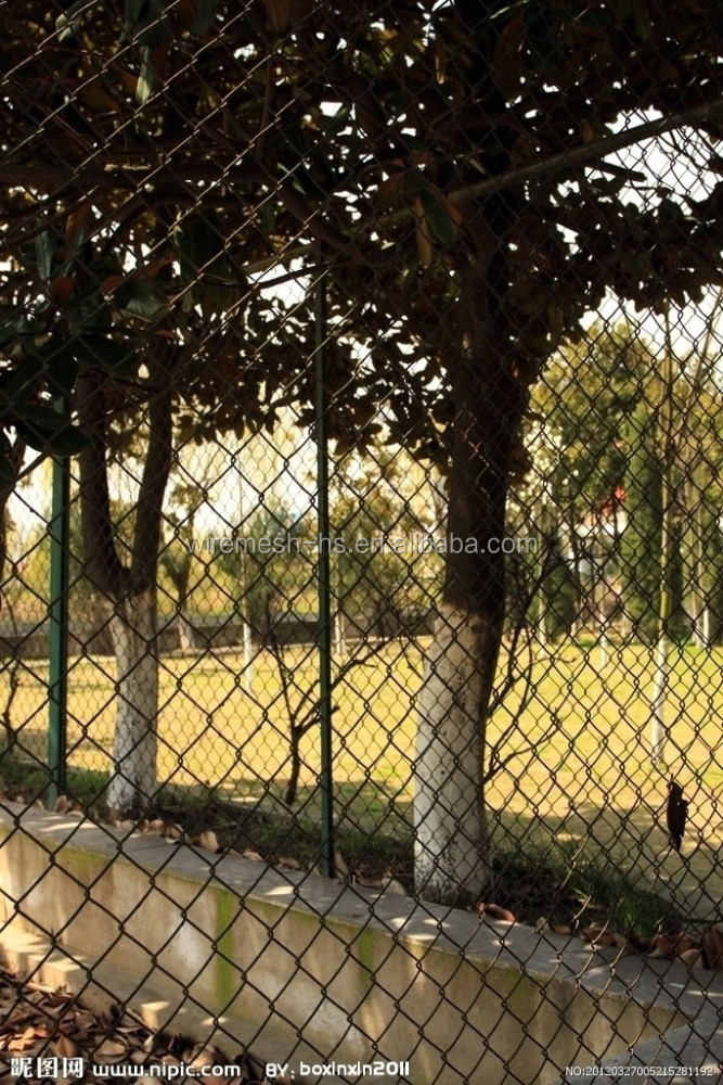China Wholesale Lowes Chain Link Fences Prices Lightweight
