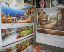 100,000 pcs Stock oil painting