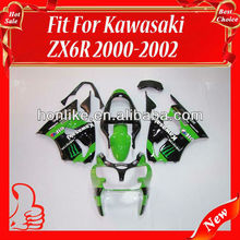 Bodywork Fairing for KAWASAKI Ninja ZX6R 00-02 2000-2002 ZX-6R 2000 2001 2002 ABS