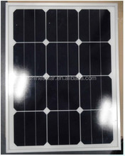 Custom size solar panel use US sunpower 125x125 solar cells EU standards
