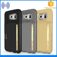 Hot Selling Designer TPU Mobile Phone Leather Case For Samsung Galaxy S6