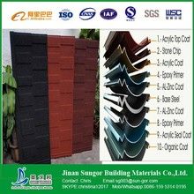 Easy Installation&Reasonable Building Material Stone Coated Metal Roof Tile