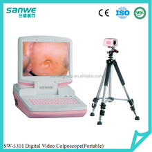 hospital equipments portable video colposcope/colposcope software/plastic vagina images picture