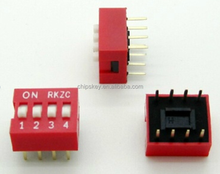 Toggle Code Switches DS-04 4 Feet 2.54 Pitch