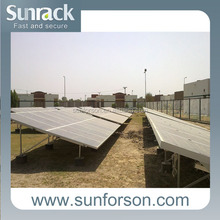 Solar Module Mounting Structure for Power Plant Installation