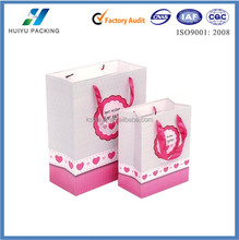 """2015 new paper gift bags_birthday paper gift bags_""""Best wishes for you"""""""